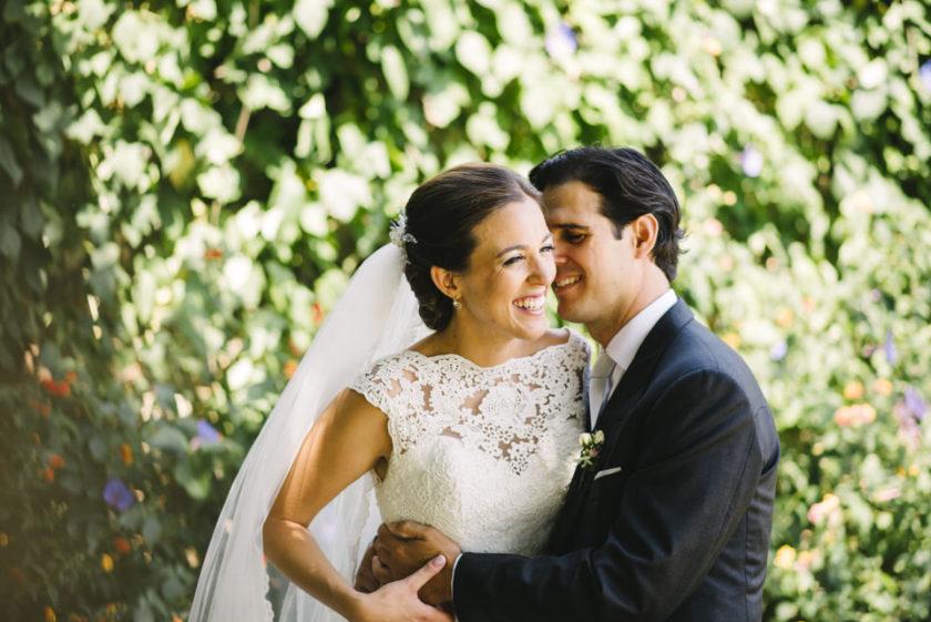 Una boda musical: el enlace de Andrea y Daniel en la catedral de Tui