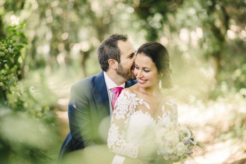 Ana y Víctor, una boda familiar en A Fortaleza (Lugo)