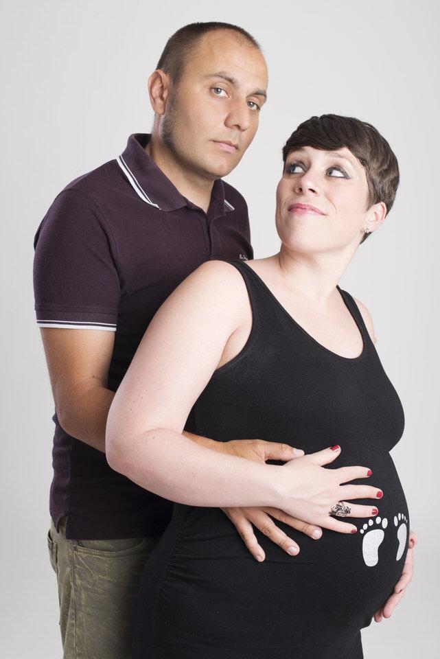 sesión embarazo fotografía madrid fotógrafa milena martinez pareja bebé newborn recién nacido madre bebé maternidad
