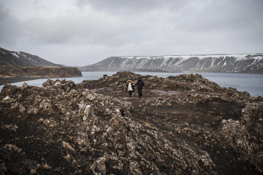 Amor y paisaje en Islandia