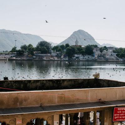 Lago de Pushkar (India)